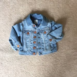 Babygap light wash jean jacket